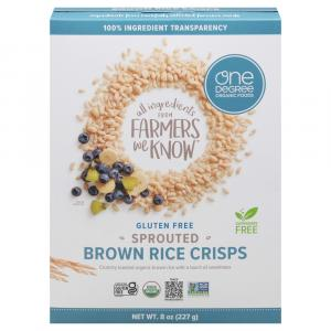 One Degree Organic Sprouted Brown Rice Crisps
