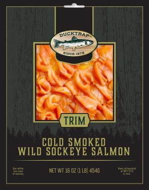 Ducktrap Smoked Wild Salmon Trim