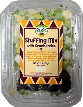 Garden Highway Stuffing Mix with Cranberry