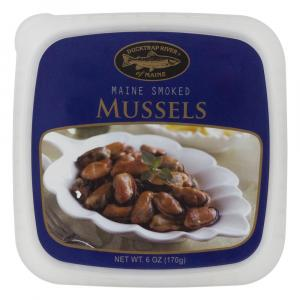 Ducktrap Smoked Mussels