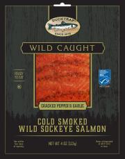 Ducktrap Smoked Wild Salmon Pepper & Garlic