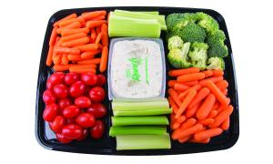 Garden Highway Vegetable Party Platter With Dip