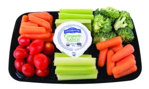Chef Essentials Organic Vegetable Snack Tray