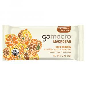Go Macro Organic Sunflower Butter + Chocolate Protein Bar