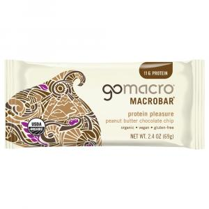 Go Macro Organic Peanut Butter Chocolate Chip Protein Bar