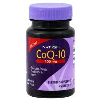 Natrol CoQ10 100 mg Caps