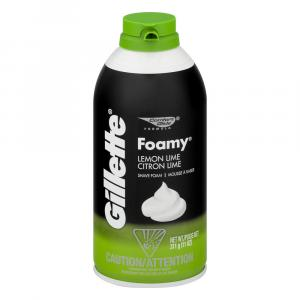 Gillette Foamy Lemon/lime Shave Cream