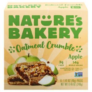 Nature's Bakery Apple Oatmeal Crumble Bars
