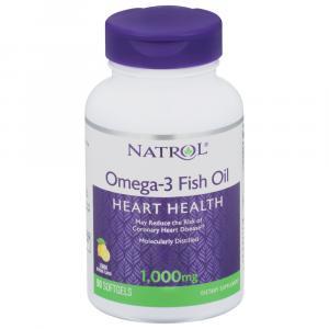 Natrol Omega-3 1000 mg Softgels