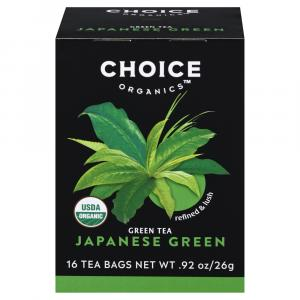 Choice Organic Premium Japanese Green Tea Bags