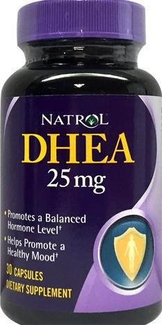 Natrol Dhea 25 Mg Capsules