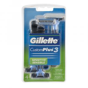 Gillette Custom Plus 3 Men's Disposable Razors