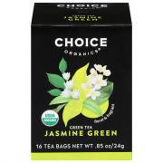 Choice Organic Jasmine Green Tea Bags