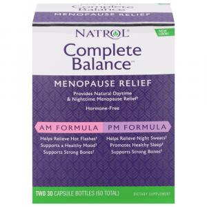 Natrol Complete Balance for Menopause AM/PM Formula