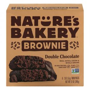 Nature's Bakery Double Chocolate Brownie Bars