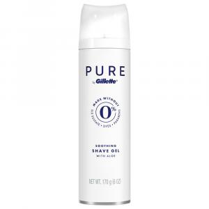 Pure by Gillette Soothing Shave Gel with Aloe