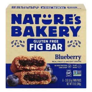 Nature's Bakery Gluten Free Blueberry Fig Bars