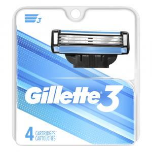 Gillette 3 Blade Cartidges