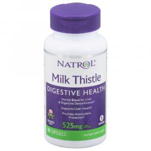 Natrol Milk Thistle Advantage Vegetarian Dietary Supplement