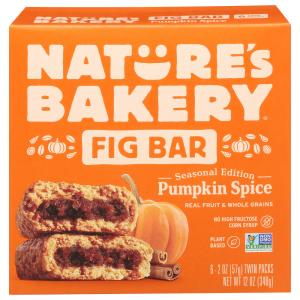 Nature's Bakery Whole Wheat Pumpkin Spice Fig Bars
