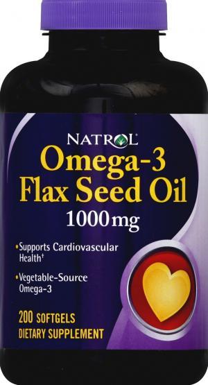 Natrol Flax Seed Oil 1000 mg