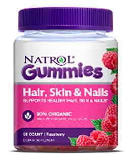 Natrol Gummy Hair, Skin, and Nails Vitamin