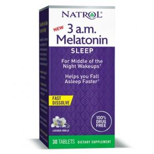 Natrol 3 A.M. Melatonin Sleep Tablets