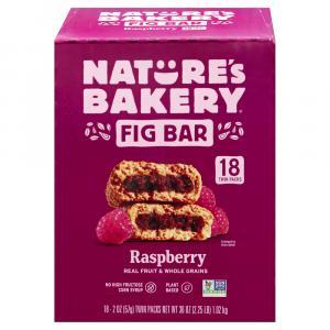 Nature's Bakery Whole Wheat Raspberry Fig Bars