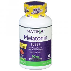 Natrol Fast Dissolve Melatonin 10mg