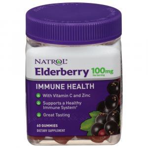 Natrol Elderberry Immune Health 100mg Gummies