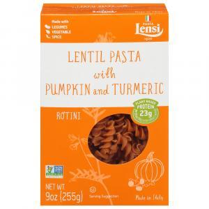 Lensi Lentil Rotini with Pumpkin & Turmeric Pasta