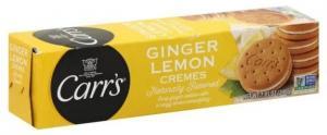Carr's Ginger Lemon Cremes