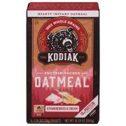 Kodiak Cakes Strawberries & Cream Oatmeal
