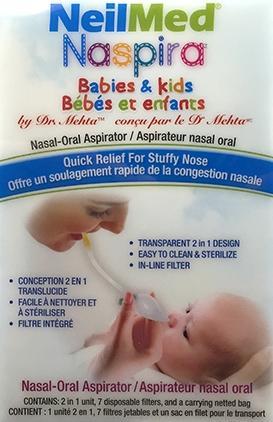 Neilmed Naspira Nasal Oral Aspirator