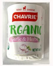 Chavrie Organic Garlic & Herb Goat Cheese