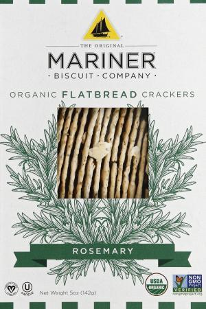 Mariner Organic Rosemary Flatbread Crackers