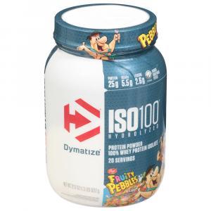 Dymatize ISO100 Hydrolyzed Fruity Pebbles Protein Powder