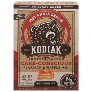 Kodiak Cakes Carb-Conscious Buttermilk Flapjack & Waffle Mix