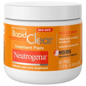 Neutrogena Rapid Clear Daily Treatment Pads