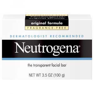 Neutrogena Unscented Original Bar Soap