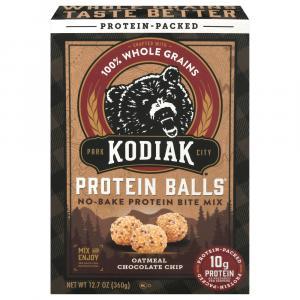 Kodiak Cakes Protein Balls Bite Mix Oatmeal Chocolate Chip