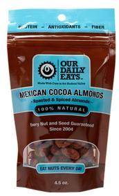Our Daily Eats Mexican Cocoa Almonds
