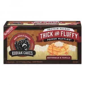Kodiak Cakes Thick & Fluffy Buttermilk & Vanilla Waffles