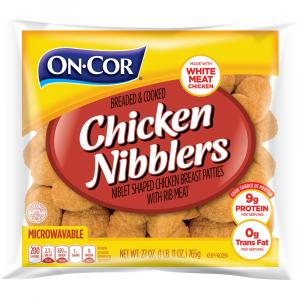 On-cor Breaded & Cooked Chicken Nibblers