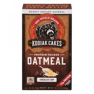 Kodiak Cakes Chocolate Chip Instant Oatmeal