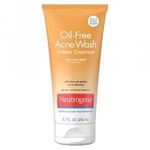 Neutrogena Oil Free Acne Creme Cleanser