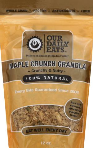 Our Daily Eats Maple Crunch Granola