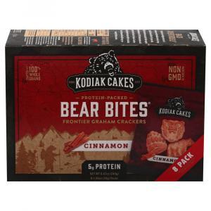 Kodiak Cakes Bear Bites Cinnamon Frontier Graham Crackers