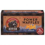 Kodiak Toaster Blueberry Waffles