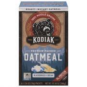 Kodiak Cakes Blueberries & Cream Oatmeal